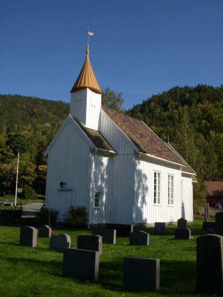 Kyrkjer – Tovdal kyrkje